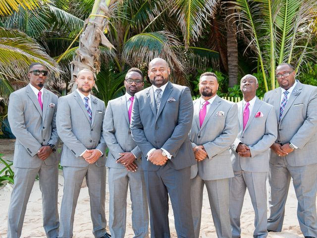 Colberte and Bryan's Wedding in Cancun, Mexico 16