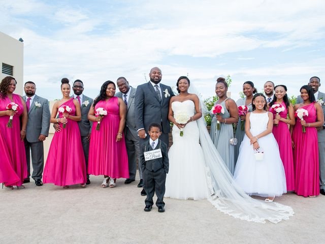 Colberte and Bryan's Wedding in Cancun, Mexico 24