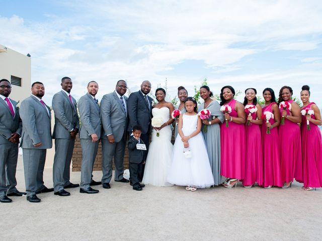 Colberte and Bryan's Wedding in Cancun, Mexico 26