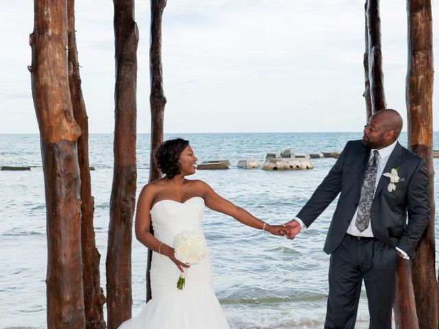 Colberte and Bryan's Wedding in Cancun, Mexico 27