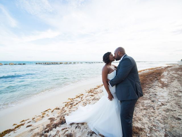 Colberte and Bryan's Wedding in Cancun, Mexico 28