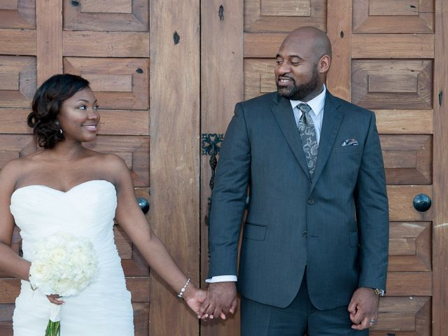 The wedding of Bryan and Colberte