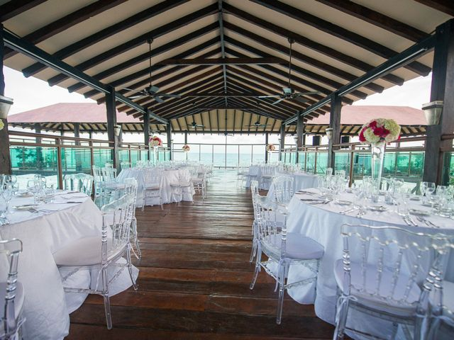 Colberte and Bryan's Wedding in Cancun, Mexico 30