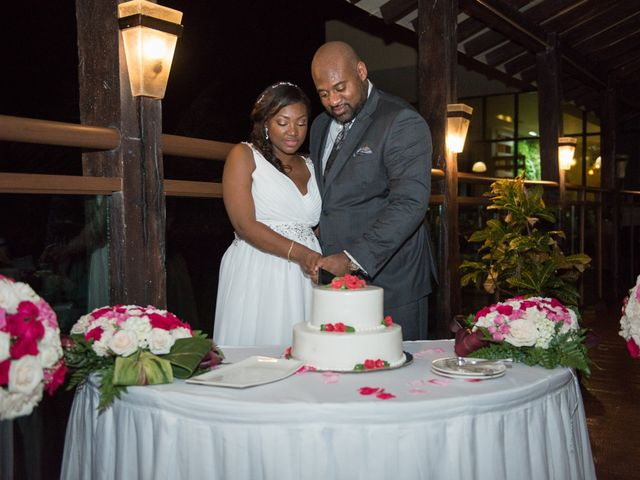 Colberte and Bryan's Wedding in Cancun, Mexico 35