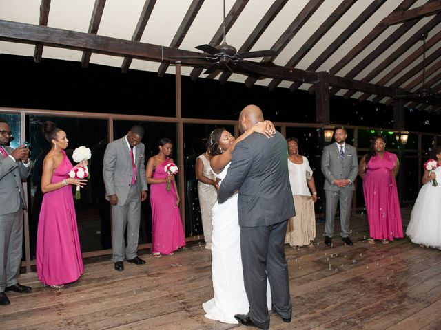 Colberte and Bryan's Wedding in Cancun, Mexico 37