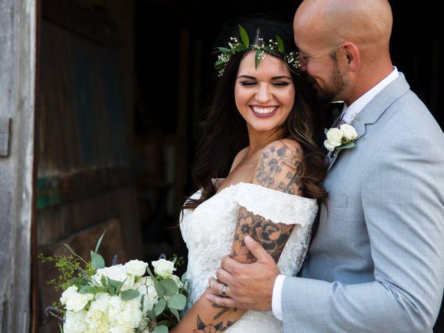 The wedding of Kylee and Nick
