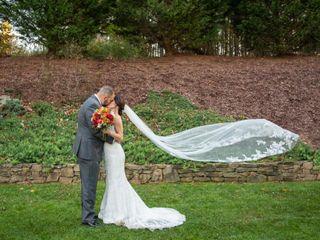The wedding of Heather and Greg