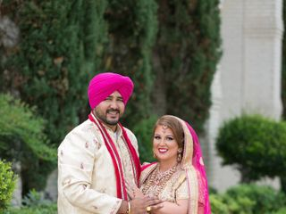 The wedding of Amandeep and Britny 1