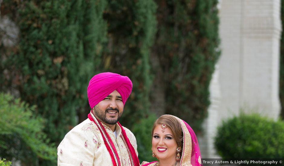 Britny and Amandeep's Wedding in McKinney, Texas