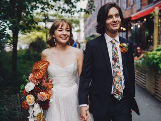 The wedding of Hannah and Sam