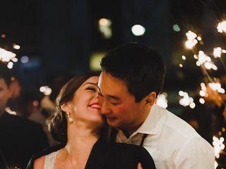 The wedding of Laura and Matt 1