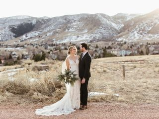 The wedding of Madie and Rowan