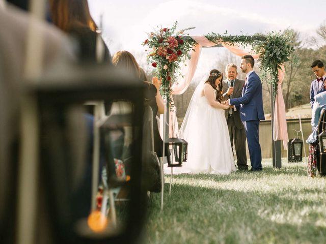 Jordan and Carolina's Wedding in Rustburg, Virginia 7