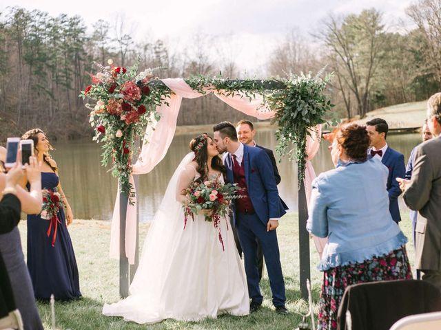 Jordan and Carolina's Wedding in Rustburg, Virginia 14
