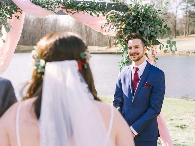 Jordan and Carolina's Wedding in Rustburg, Virginia 18