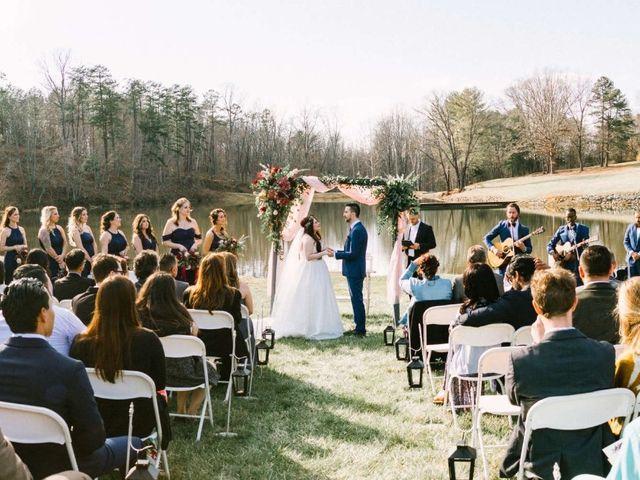 Jordan and Carolina's Wedding in Rustburg, Virginia 26