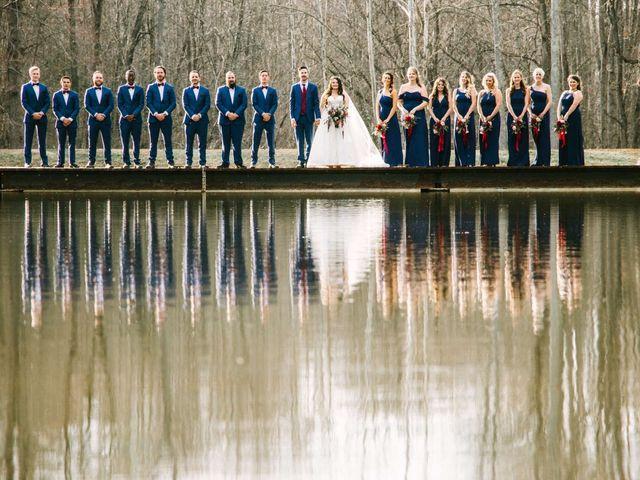 Jordan and Carolina's Wedding in Rustburg, Virginia 35