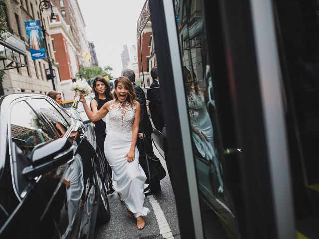 Taylor and Alexis's Wedding in New York, New York 35
