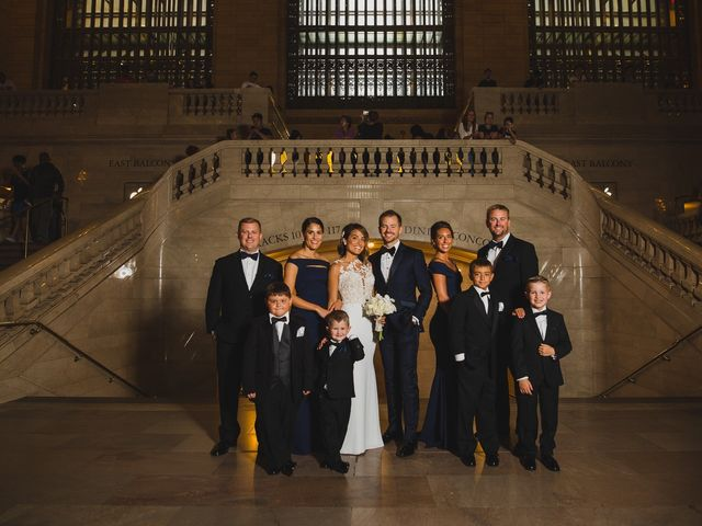 Taylor and Alexis's Wedding in New York, New York 60