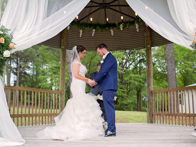 Nicole and Chad's Wedding in Angier, North Carolina 1