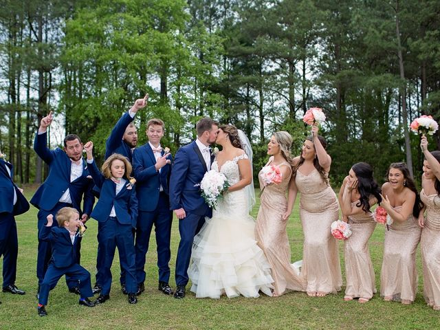Nicole and Chad's Wedding in Angier, North Carolina 2