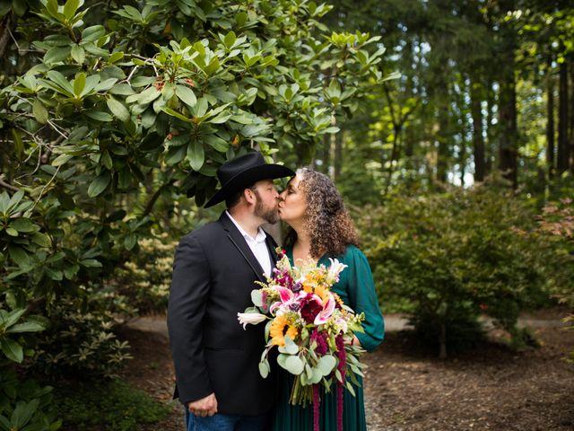 The wedding of Jeff and Josy