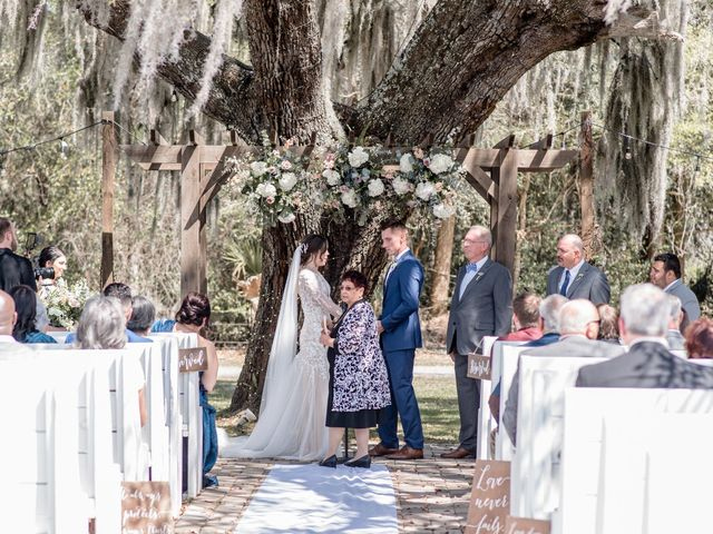 Ashley and Austin's Wedding in Mims, Florida 15