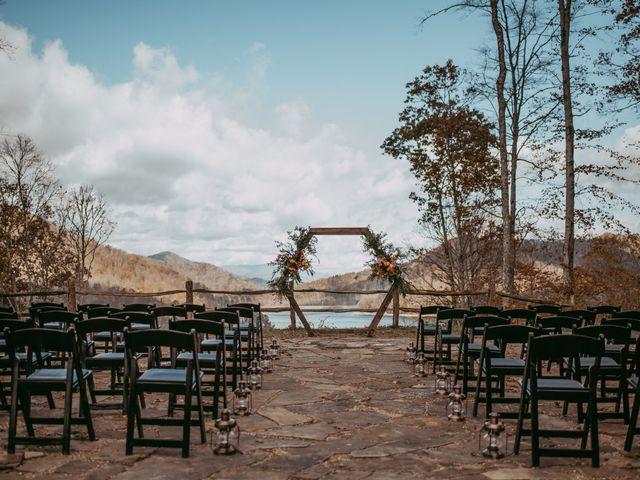 Jacqueline and Nick's Wedding in Topton, North Carolina 28