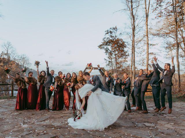 Jacqueline and Nick's Wedding in Topton, North Carolina 35