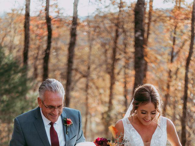 Jacqueline and Nick's Wedding in Topton, North Carolina 30