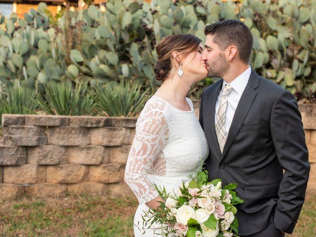 The wedding of Keri and Nathan