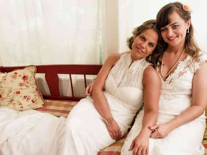 The wedding of Leah and Lea