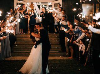 The wedding of Ashley and Caleb
