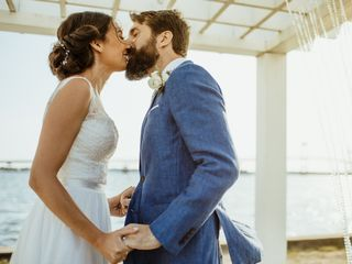 The wedding of Daniele and Brad