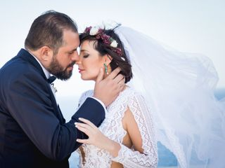 The wedding of Mania and Alekos
