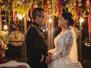 The wedding of Araceli and Oswaldo