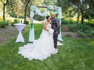 The wedding of Adele and Patrick