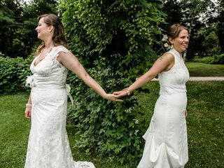 The wedding of Leah and Lea 3