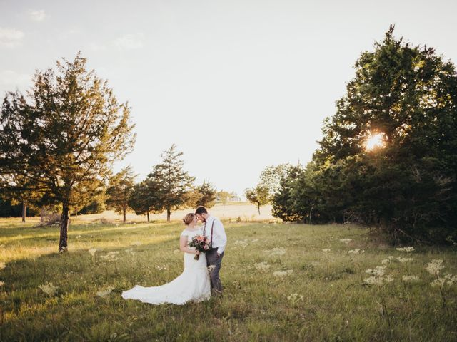 The wedding of Aubrey and Jordan