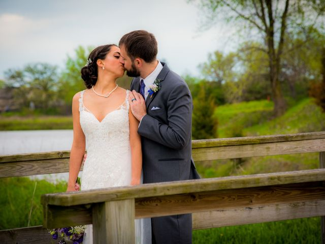 The wedding of Kassie and Kyle