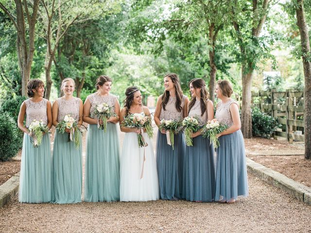Haley and John's Wedding in Hendersonville, Tennessee 6