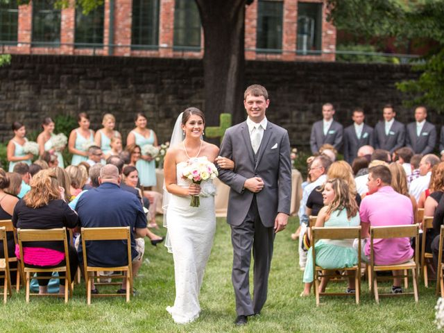Samantha and Lance's Wedding in Frankfort, Kentucky 16