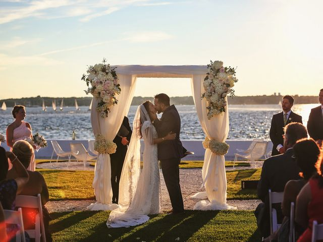 Lindsey and Frank's Wedding in Newport, Rhode Island 11