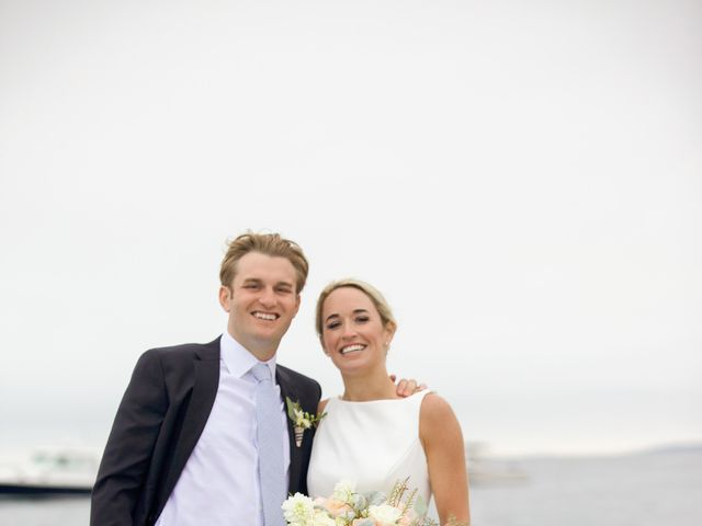 The wedding of Robert and Carley