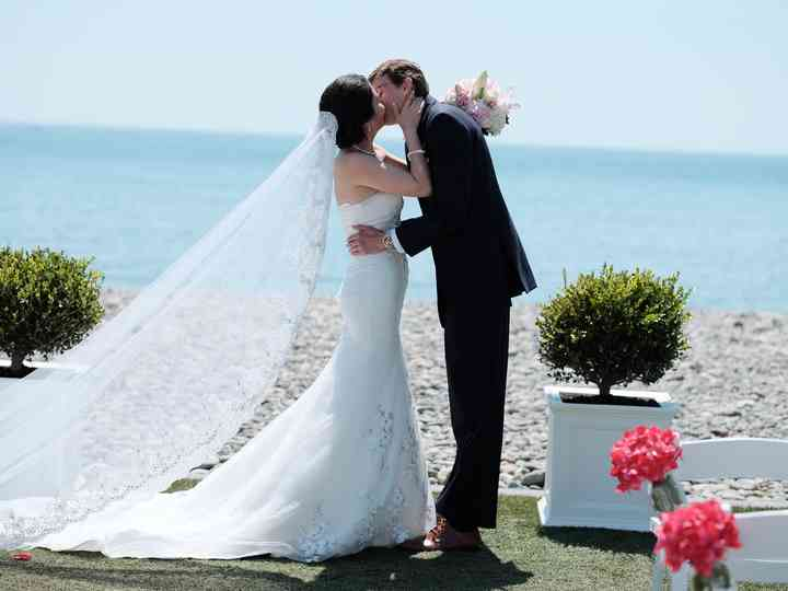 The wedding of Siran and James