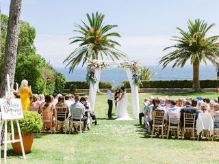 The wedding of Lucy and Richie