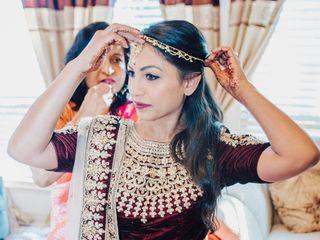 The wedding of Erik and Sareeta 1