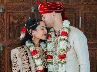 The wedding of Erik and Sareeta