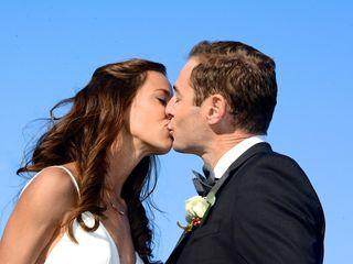 The wedding of Katie and Bob
