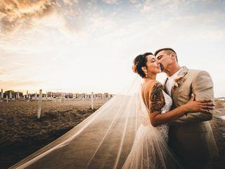 The wedding of Giorgia and Manuel